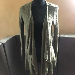Open front cardigan with cute detail